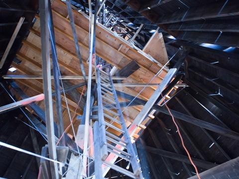 St Josaphat Catholic Church Steeple - Detroit