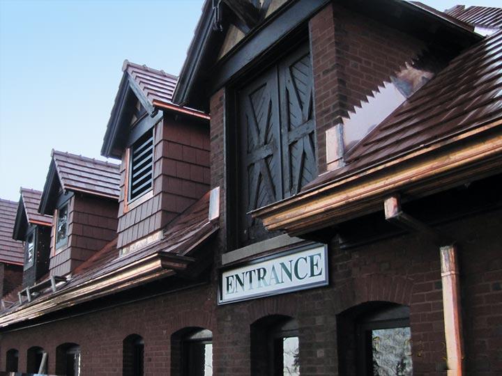 Gleenshee Carriage House Detroit Cornice Amp Slate Co