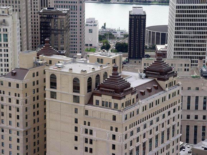Book Cadillac Hotel Detroit Cornice Slate Co