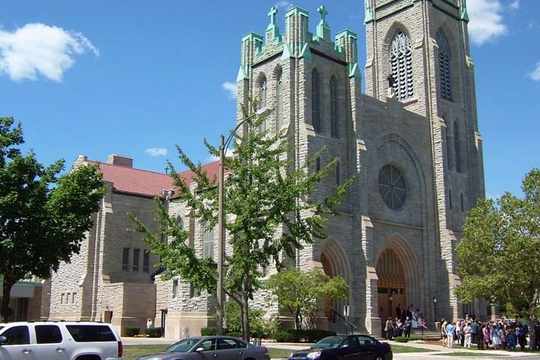 St Mary's Cathedral in Lansing, Michigan