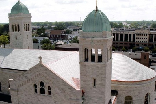 St Mary's in Jackson, Michigan