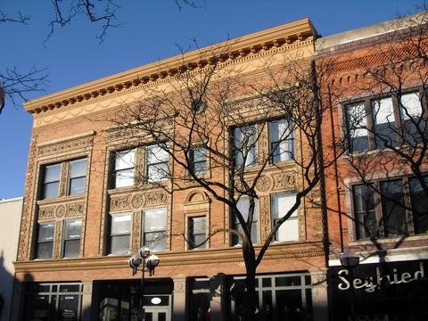 Ann Arbor Cornice Restored